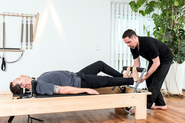 Footwork am Reformer